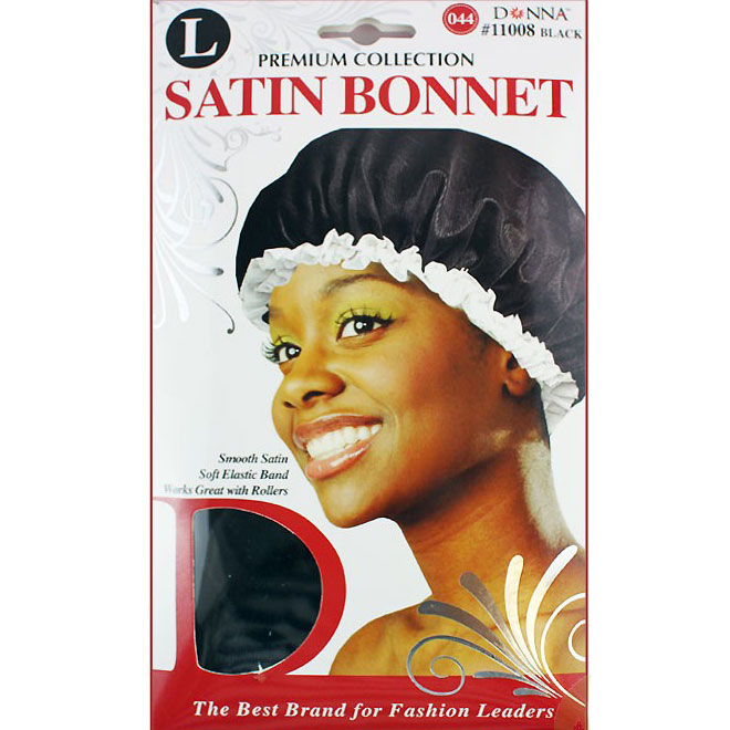 Donna Collection Assort Satin Bonnet Large #11007