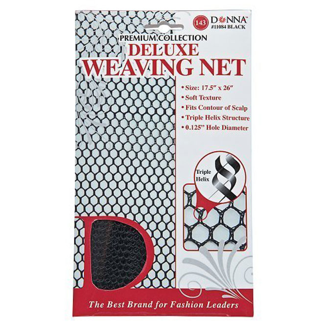 Donna Collection Deluxe Weaving Net - Black #11084