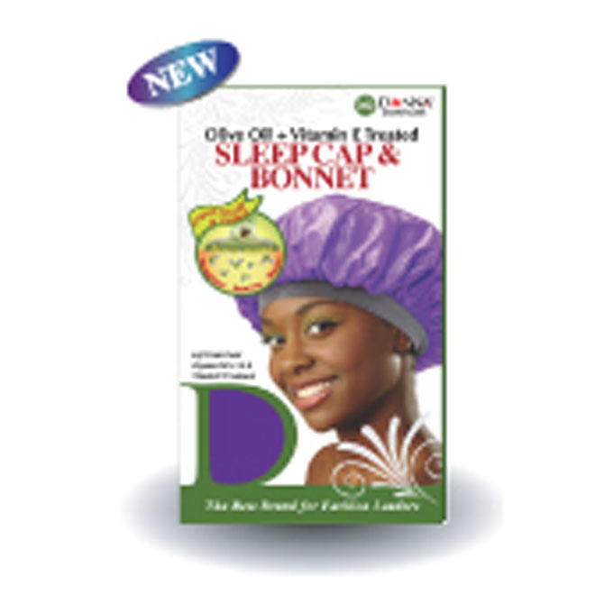 Donna Band Sleep Cap & Bonnet #22003
