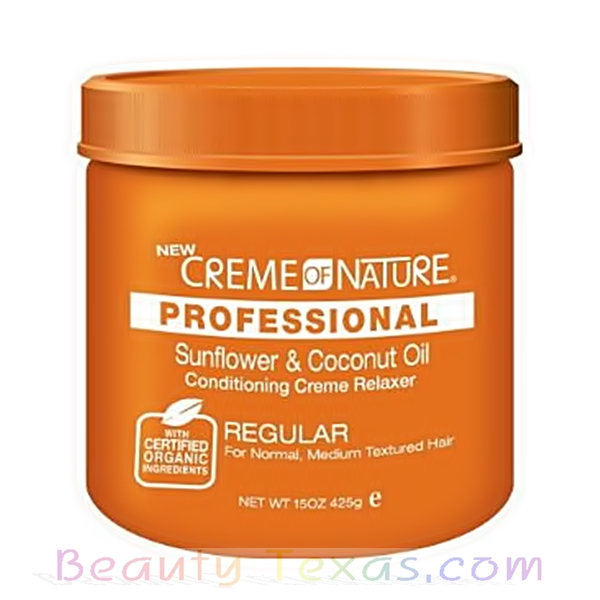 Creme of Nature Professional Sunflower & Coconut Oil Conditioning Creme Relaxer Regular 15oz