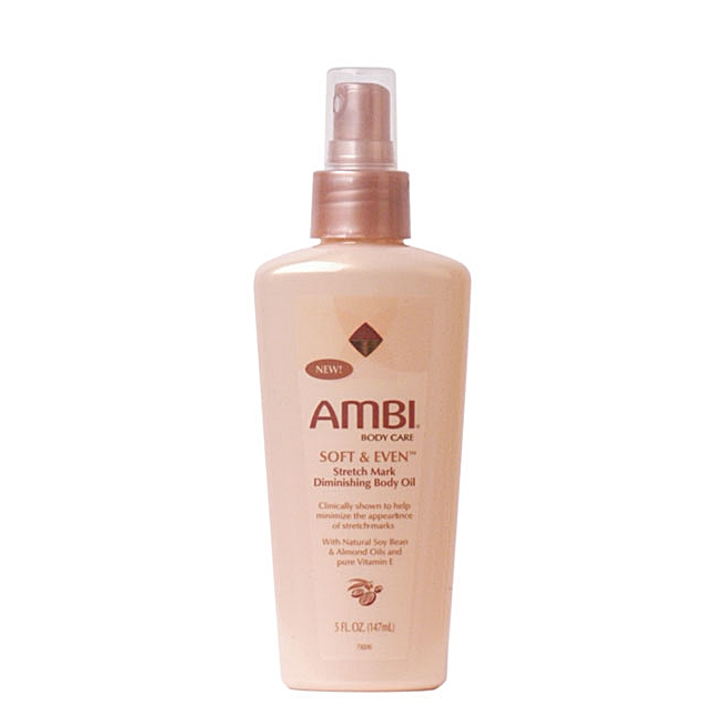 Ambi Soft & Even Stretch Mark Diminishing Body Oil 5oz