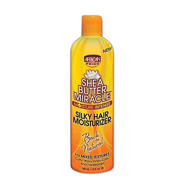 African Pride Shea Butter Miracle Silky Hair Moisturizer 12oz