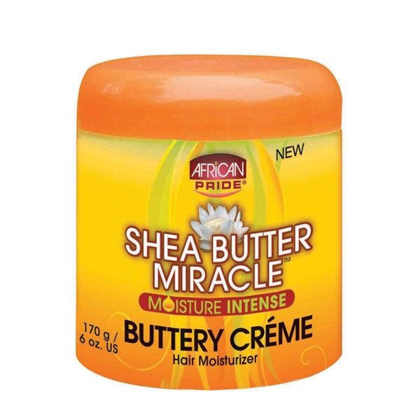 African Pride Sheabutter Miracle Buttery Creme 6oz