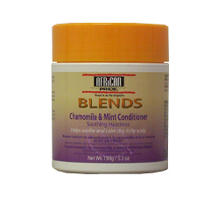 African Pride Blends Chamomile & Mint Conditioner Soothing Hairdress 5.3 oz