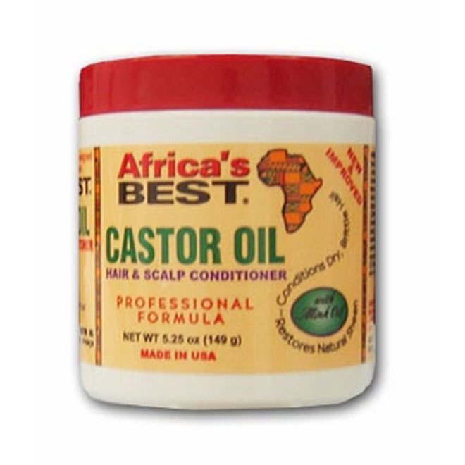 Africa's Best CASTOR OIL Hair & Scalp Conditioner 5.25 oz