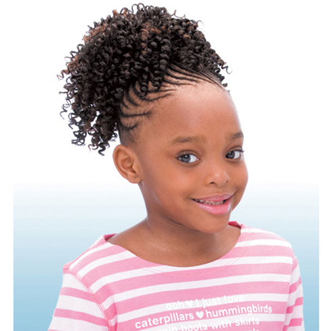 Freetress Synthetic Kids Ponytail - CORK SCREW
