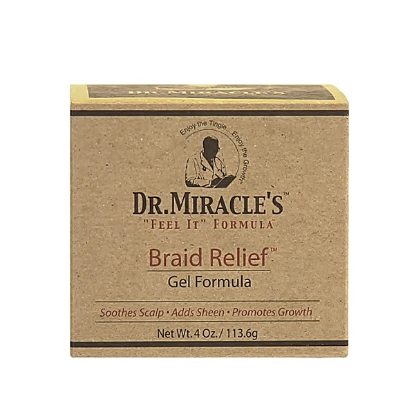 Dr.Miracle's Braid Relief Gel Formula 4oz