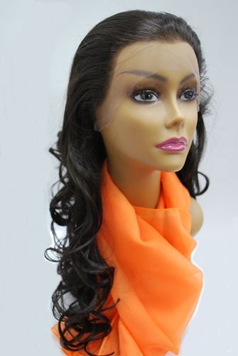 A Plus Ozone Synthetic Lace Front Wig - LACE-006CH