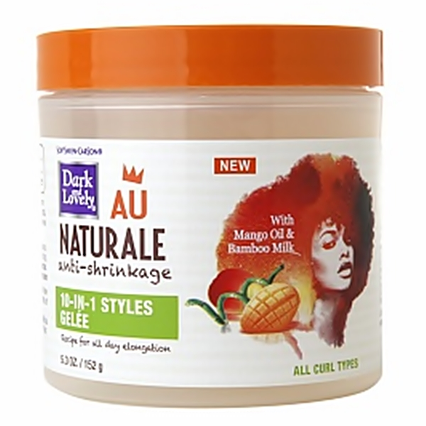 Dark and lovely Naturale 10-IN-1 STYLES GELEE 5.3oz