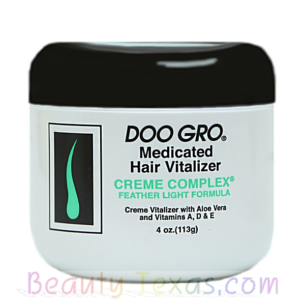 Doo Gro Medicated hair Vitalizer Creme Complex 4oz