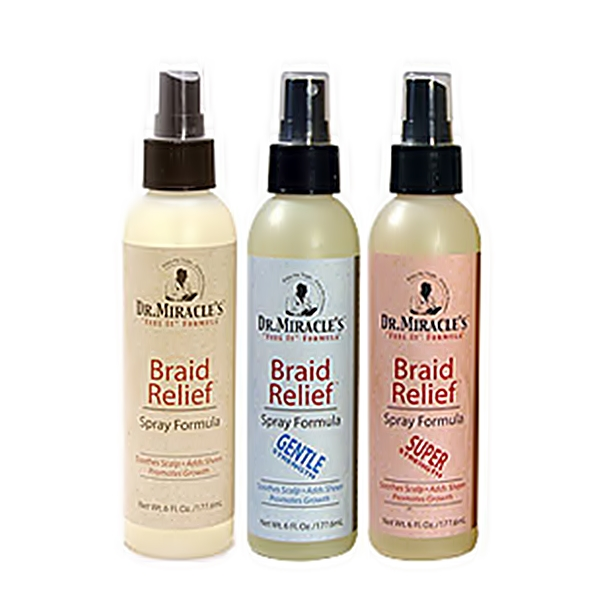 Dr.Miracle's Braid Relief Spray Formula 6oz