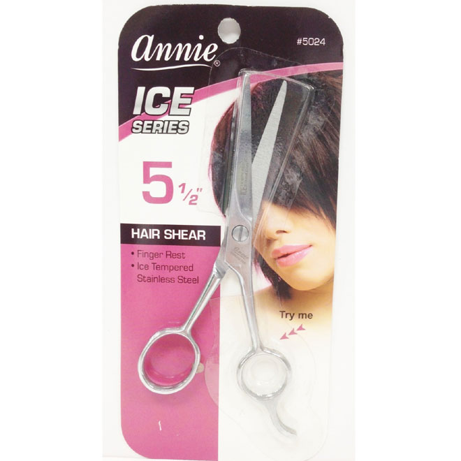 "ANNIE ICE SERIES HAIR SHEAR 5 1/2"" #5024"