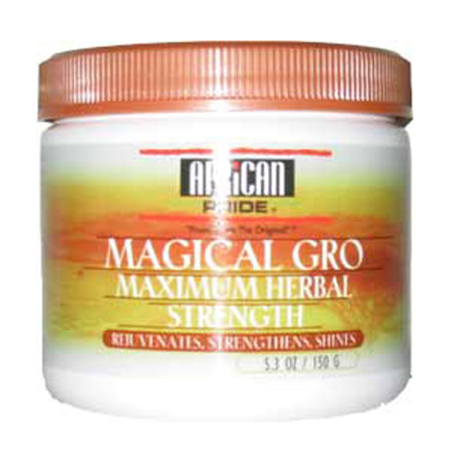 African Pride Magical Gro [Herbal / Max / Oil] 5.3 oz