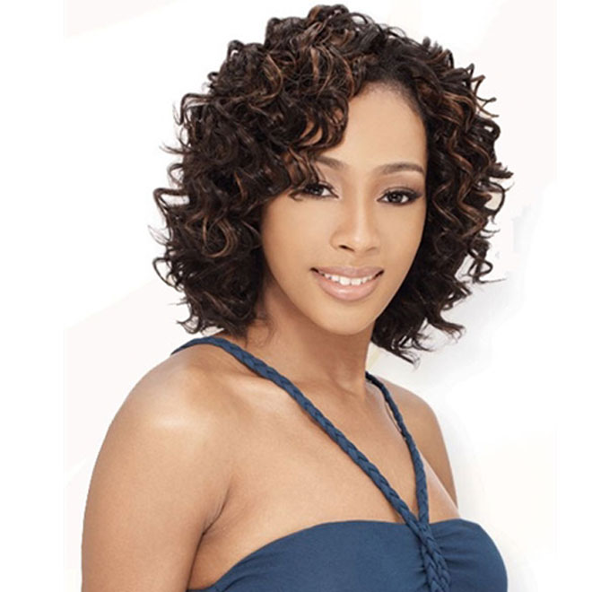 Human Blend Hair Wig Sale Milkyway Outre Remy Hair