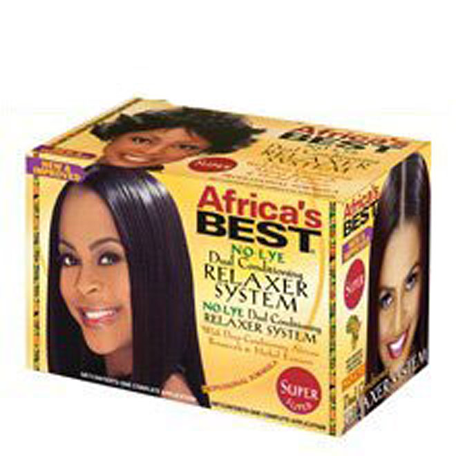 Africa's Best No-Lye Dual Conditioning Relaxer System KIT