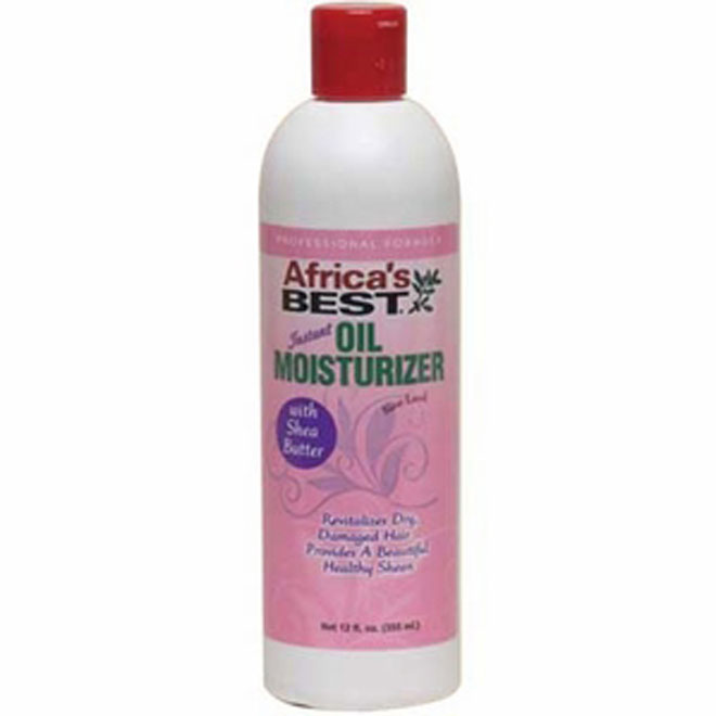Africa's Best Instant OIL MOISTURIZER Lotion BNS 12 oz