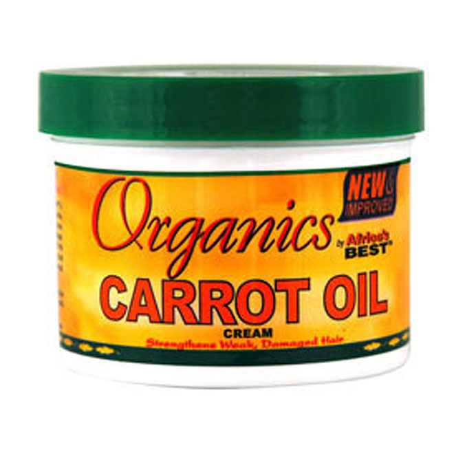 Africa's Best Organics CARROT Oil Creme 7.5 oz