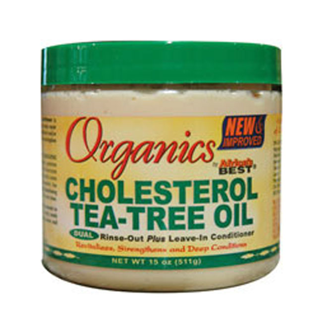 Africa's Best Organics CHOLESTEROL H/S Tea-Tree Oil 15 oz
