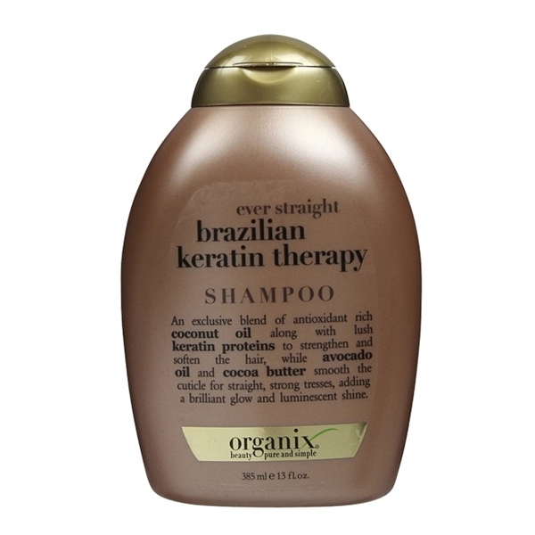 Organix Ever Straight Brazilian Keratin Therapy SHAMPOO 13oz