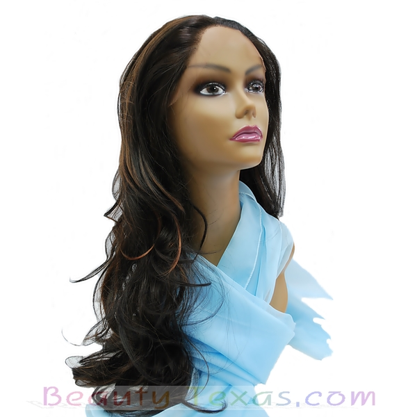 A Plus Ozone Synthetic Lace Front Wig - LACE-008SE