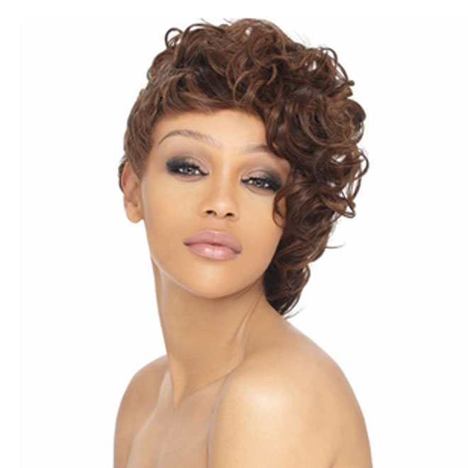 Outre Salon Cut 100% Human Hair Weave - Swirl Cut