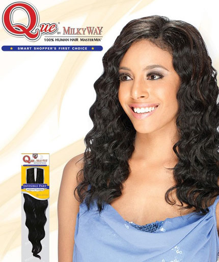 MilkyWay 100% Human Hair MasterMix invisible part
