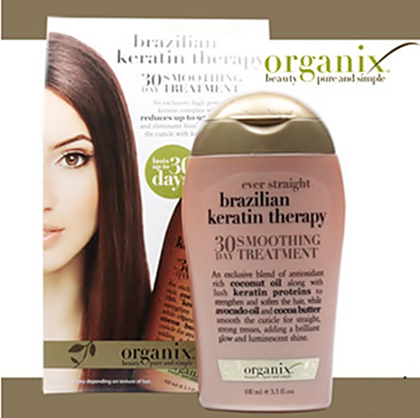 Organix Brazilian Keratin Therapy 30 DAY SMOOTHING TREATMENT 3.3oz