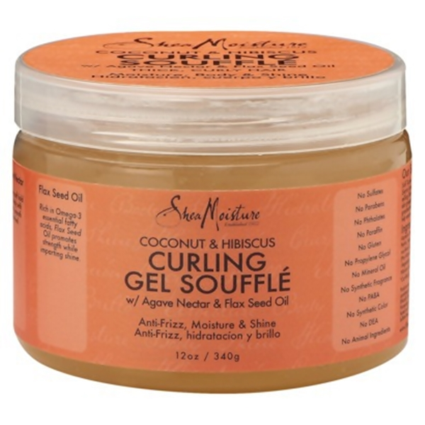 SheaMoisture CURLING GEL SOUFFLE(Coconut & Hibiscus) 12oz