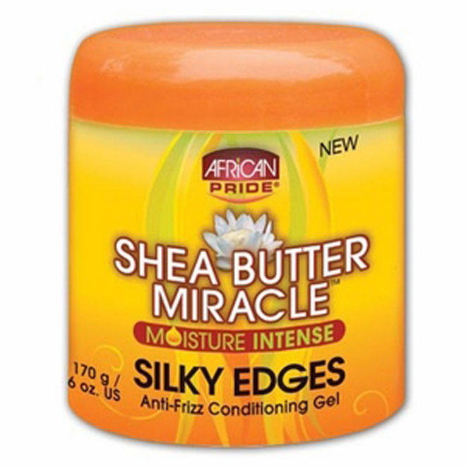 African Pride Silky Edges 6oz