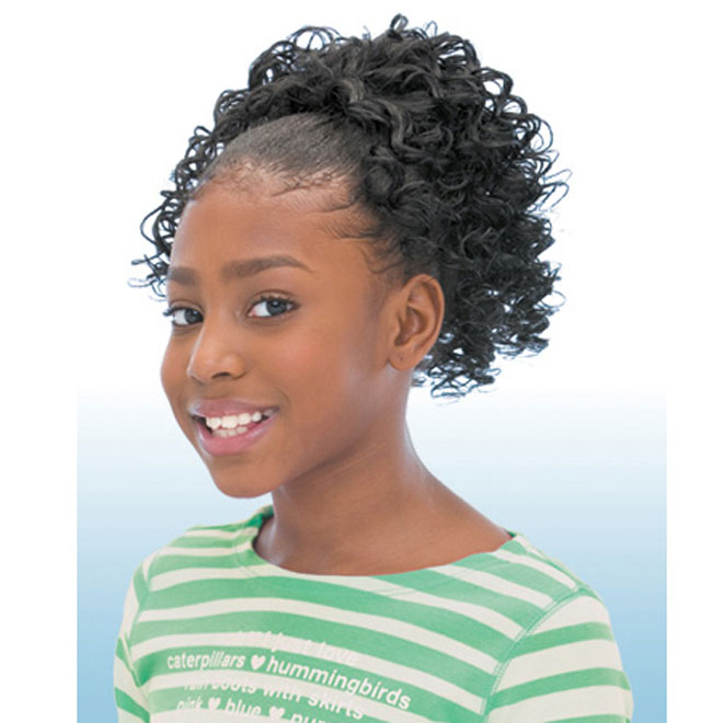 Freetress Synthetic Kids Ponytail -TWIRL CURL