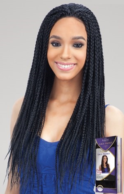 EQUAL LACE FRONT WIG - BOX BRAID