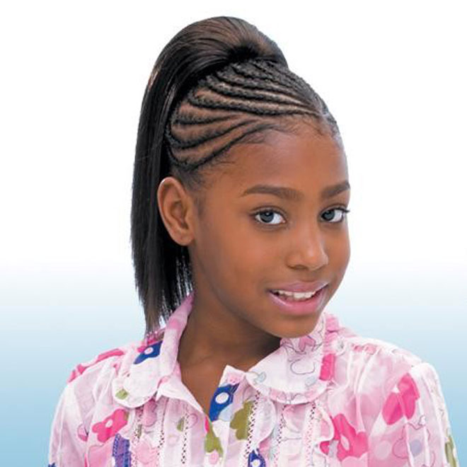 Freetress Synthetic Kids Ponytail -YAKY STRAIGHT