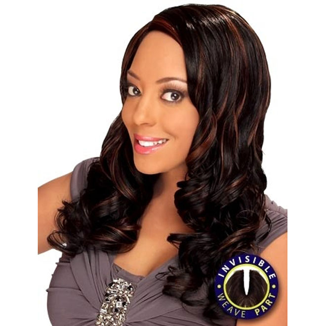 Zury DIOS Wave Invisible Part Weave TWIN 18""