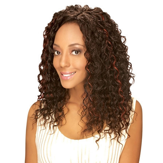 Zury DIOS Wave Invisible Part Weave Dios Beach Curl