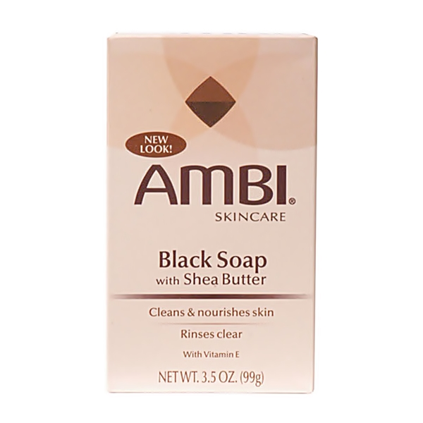 Ambi Skincare Black Soap with Shea Butter 3.5oz