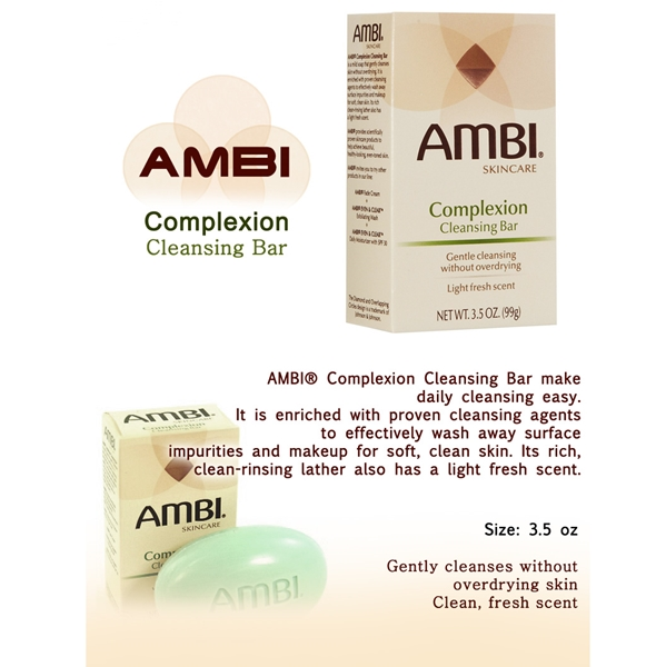Ambi Skincare Complexion Cleansing Bar 3.5oz