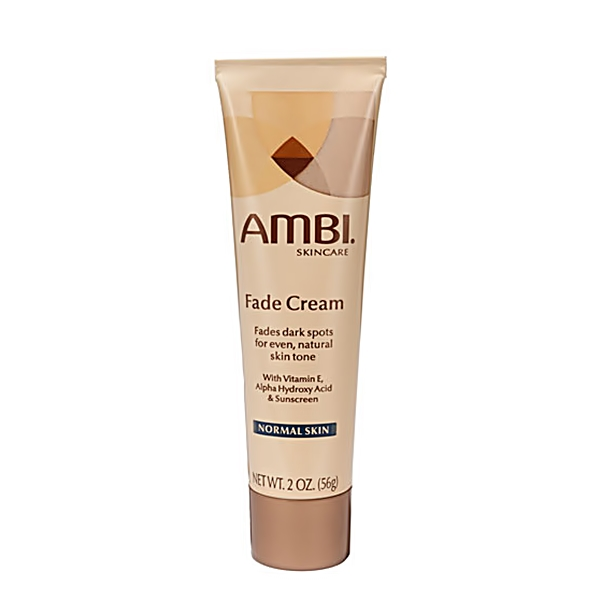 Ambi Fade Cream for Normal Skin w/ Alpha Hydroxy Acid, Vitamin E & Sunscreen 2oz