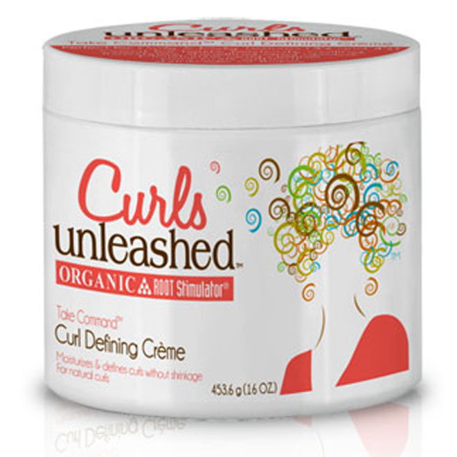 Curls Unleashed Take Command Curl Defining Creme 16oz