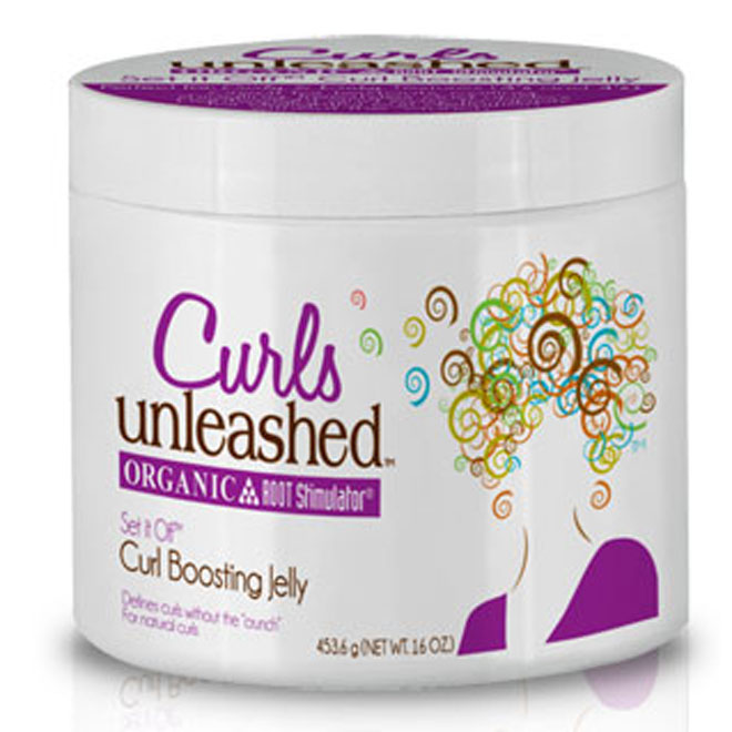 Curls Unleashed Set it Off Curl Boosting Jelly 16oz