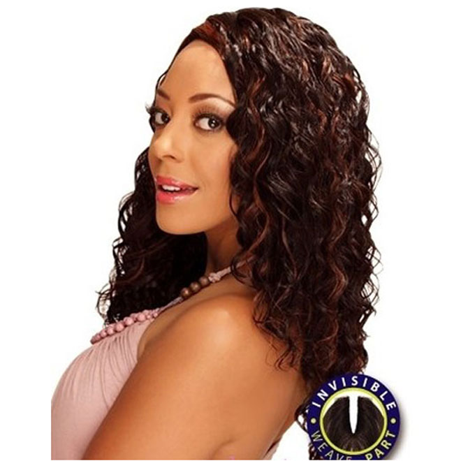 Zury DIOS Wave Invisible Part Weave French Deep 18""