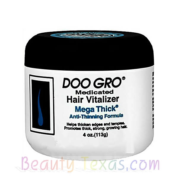 Doo Gro Medicated Hair Vitalizer Mega Thick Anti-Thinning Formula 4oz