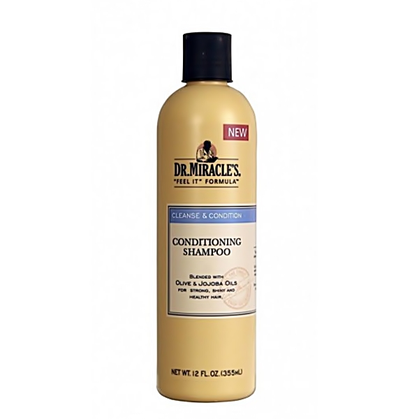 Dr.Miracle's Cleanse&Condition Conditioning Shampoo 12oz