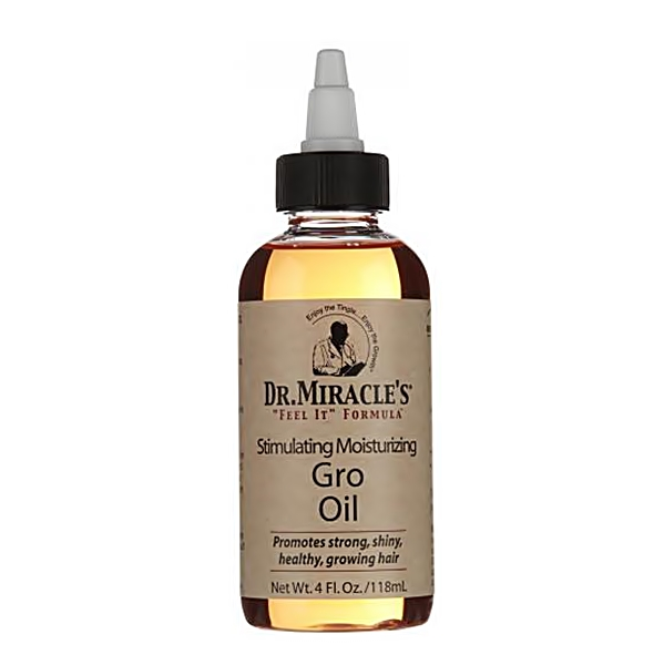 Dr.Miracle's Daily Moisturizing Gro Oil 4oz