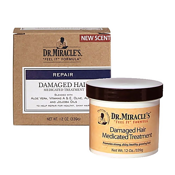 Dr.Miracle's Damaged Hair Medicated Treatment 12oz