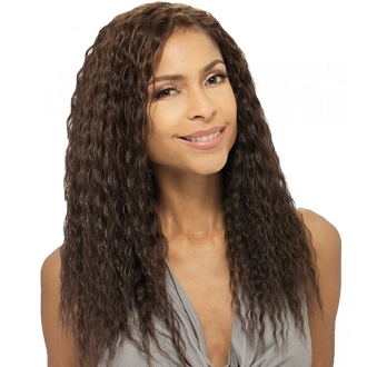 Milky Way Que 100% Human Hair - Natural Super Weave Wet & Wavy 10""
