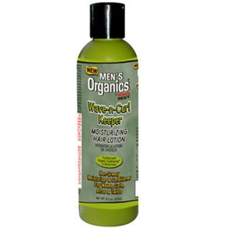 Africa's Best Men's Organics Wave-n-Curl Keeper Moisturizing Hair Lotion 8 oz