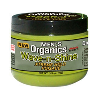 Africa's Best Men's Organics Wave-n-Shine Xtreme Hold Pomade 3.5 oz