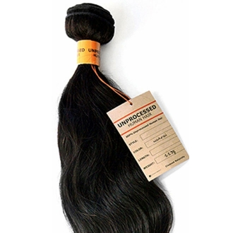 "Sensationnel Unprocessed Human Hair Natural Wavy 12""~26"""