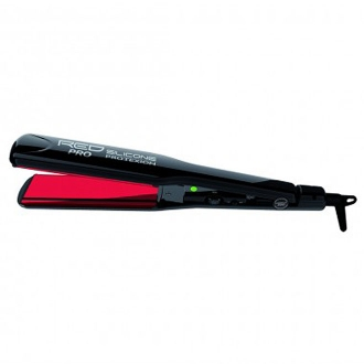 RED PRO SILICONE PROTEXION FLAT IRON 1-1/2""