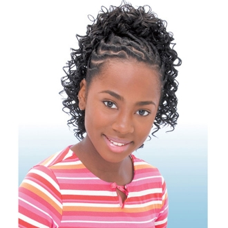 Freetress Synthetic Kids Ponytail -NEW DEEP